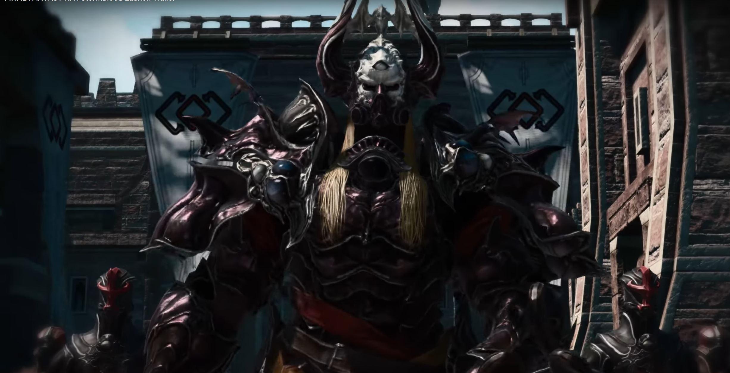 Final Fantasy XIV Stormblood Launch Trailer Zeigt