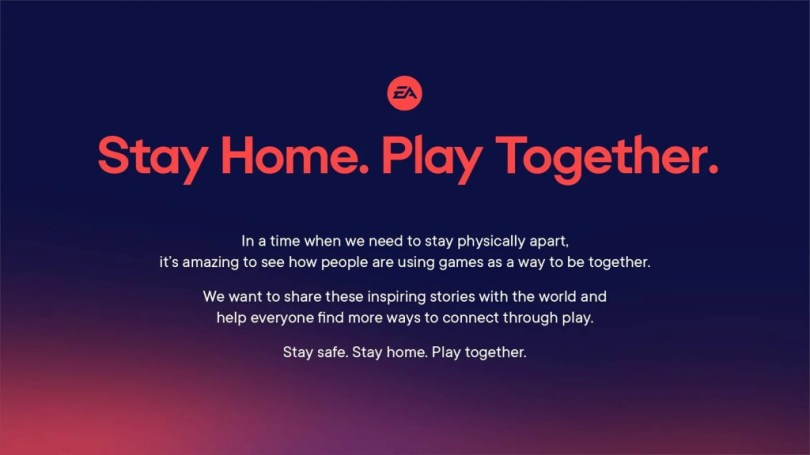 Anthem EA Stay Home Play Together