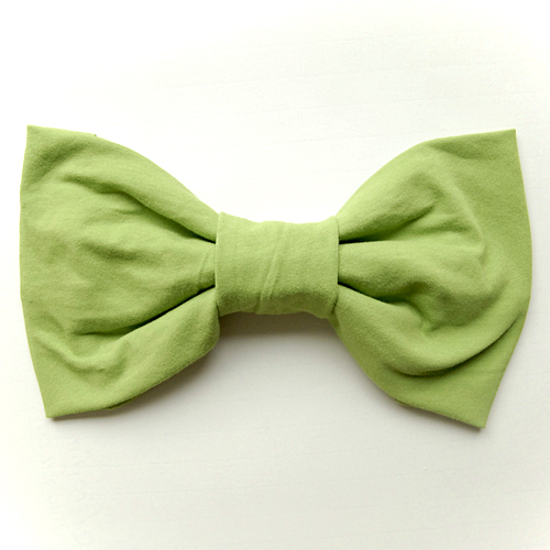 recycled/upcycled t-shirt bow