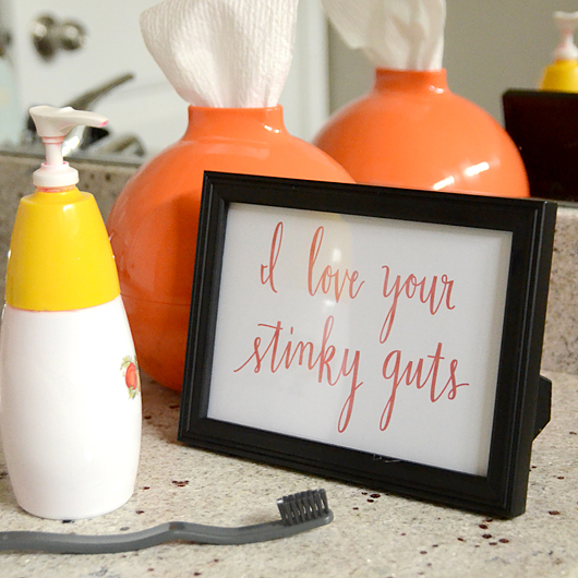 Download Redesigned: Stinky Guts Printable - I Still Love You by ...