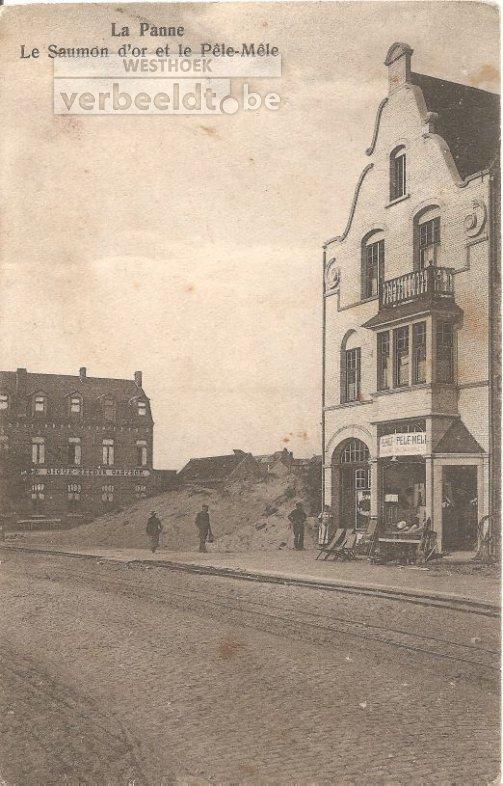 De Panne: één van de eerste lingeriewinkels
