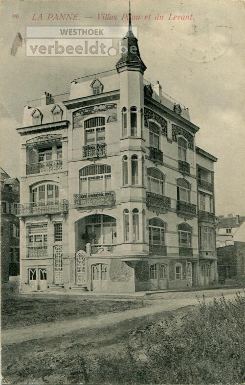 De Panne: villa's Le Levant en Mabel lijken één statig herenhuis