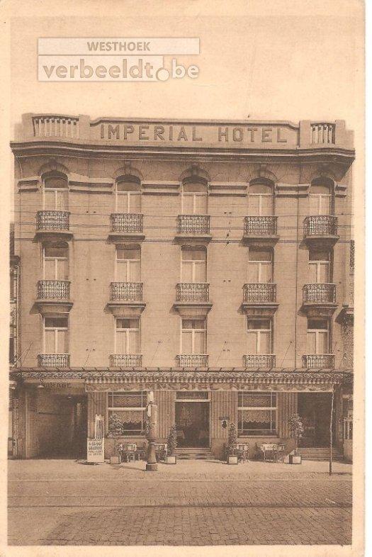 De Panne: hotel Imperial