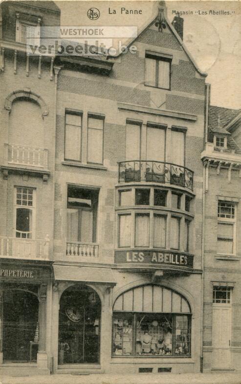 De Panne: winkel 'Les Abeilles' in de Zeelaan