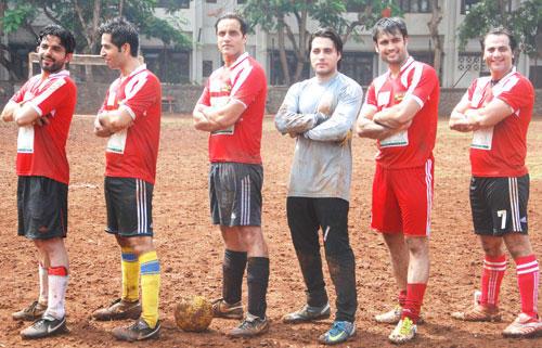 TV Stars Plays Gold's Charity International Soccer Match