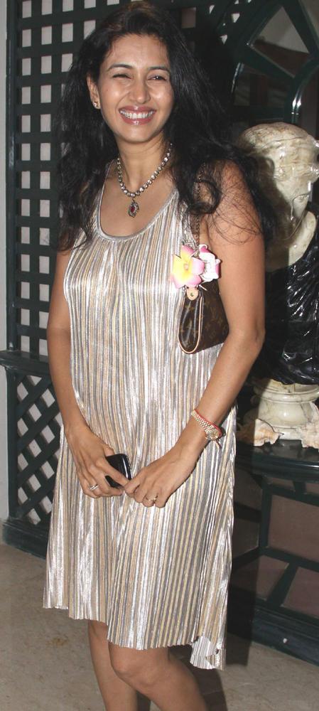 Deepthi Bhatnagar Spotted at Mika Singh Birthday Party