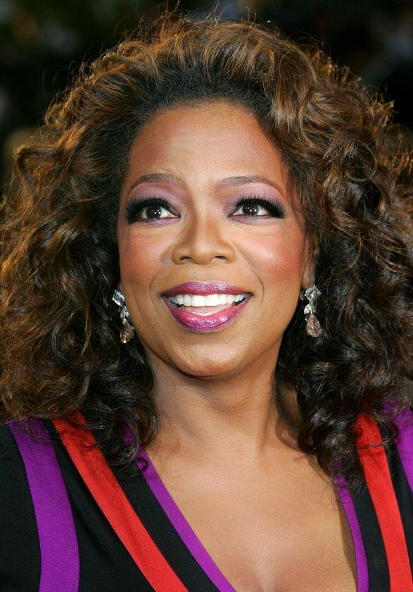 Oprah Winfrey Beauty Still In Curly Hair Cut