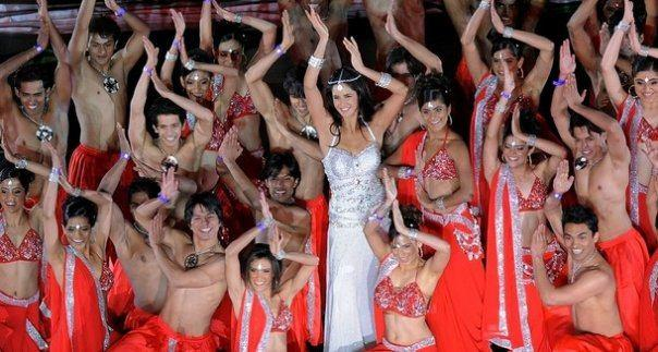 Katrina Kaif Enthralls the Audience During The IPL 2009 Closing Ceremony