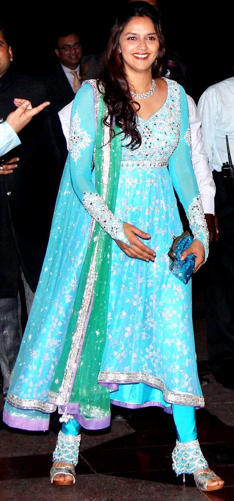 Ahana Deol at Sister Esha Deol Sangeet Ceremony