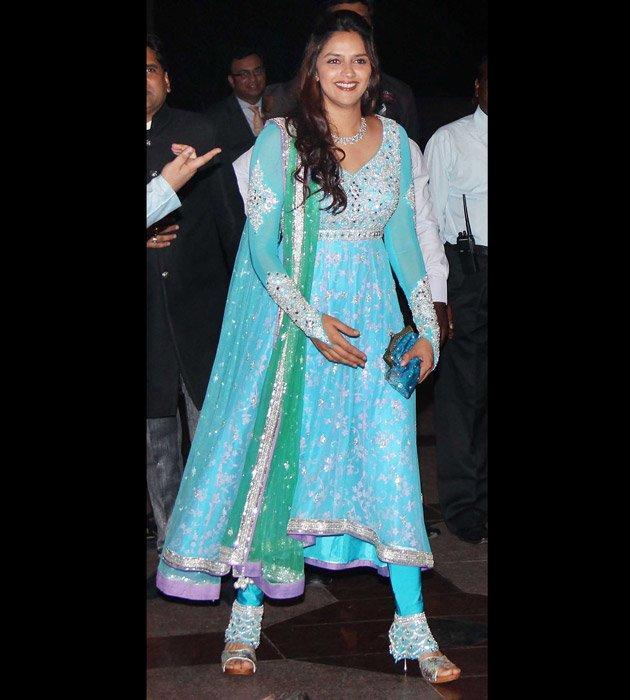 Ahana Deol at Sangeet