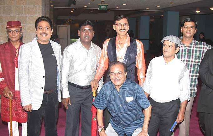Amit,Shailesh,Tanuj and Others at SAB TV Awards 2012
