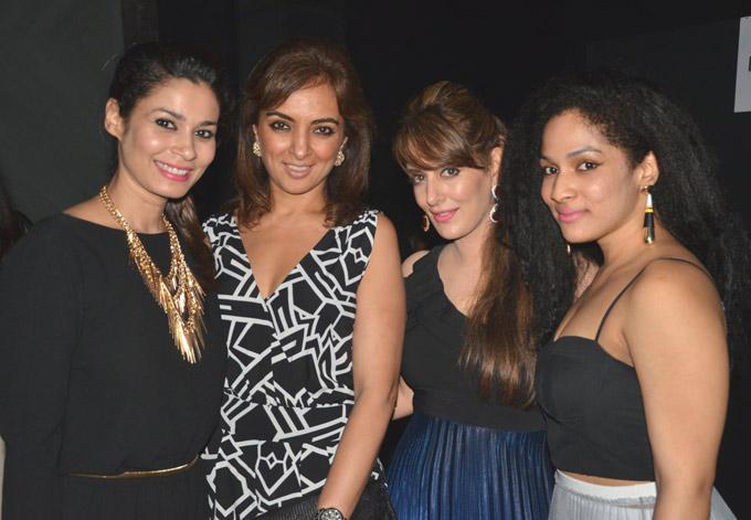 Shaheen,Lata,Pria and Masaba Strikes A Pose At Pure Concept Store