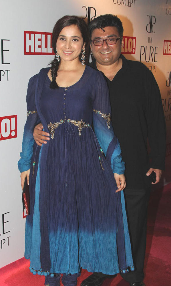 Simone Singh with Hubby Fahad Samar at Pure Concept Store Launch