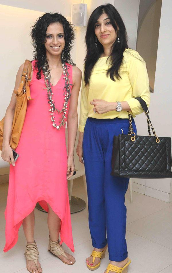 Aparna Badlani and Azmina Rahimtoola Sweet Pose Still