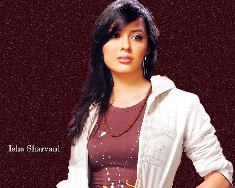 Isha Sharvani Romantic Mode Wallpaper