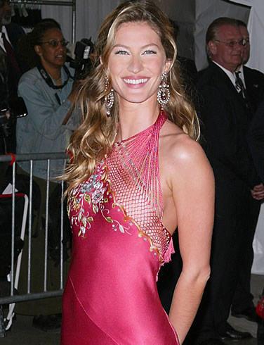 Gisele Bundchen Sexy Dress Public Photo
