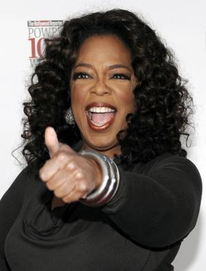 Actress Oprah Winfrey Still