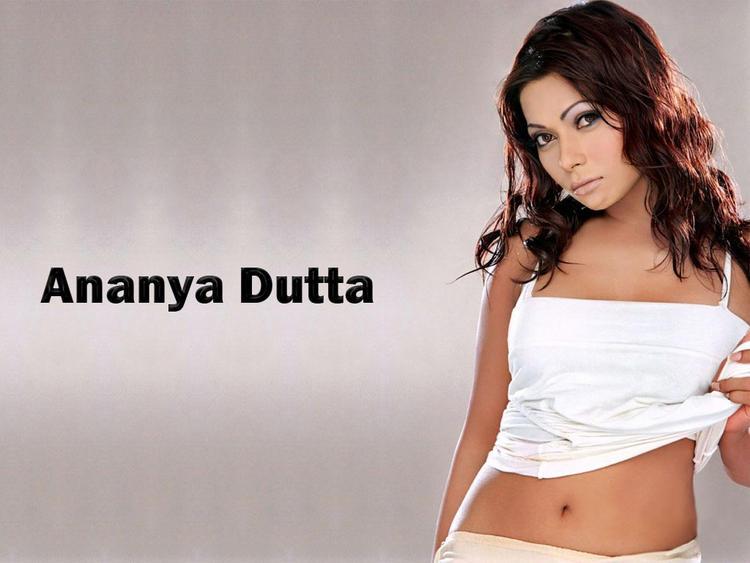 Ananya Dutta Sexy Navel Hot Wallpaper