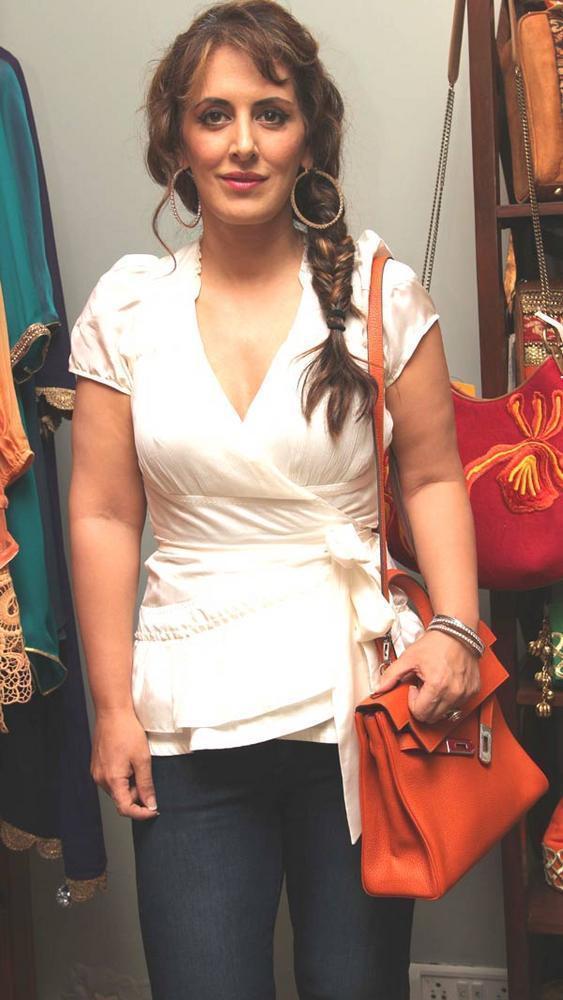 Gorgeous Pria Kataria Puri at a Fashion Shop