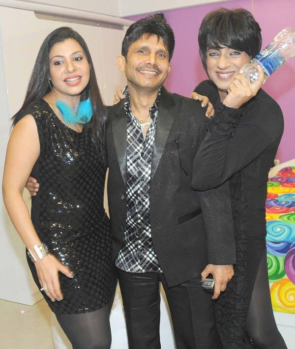 Rohit Verma and Sambhavan Celebrates Kamaal R Khan House Warming Party