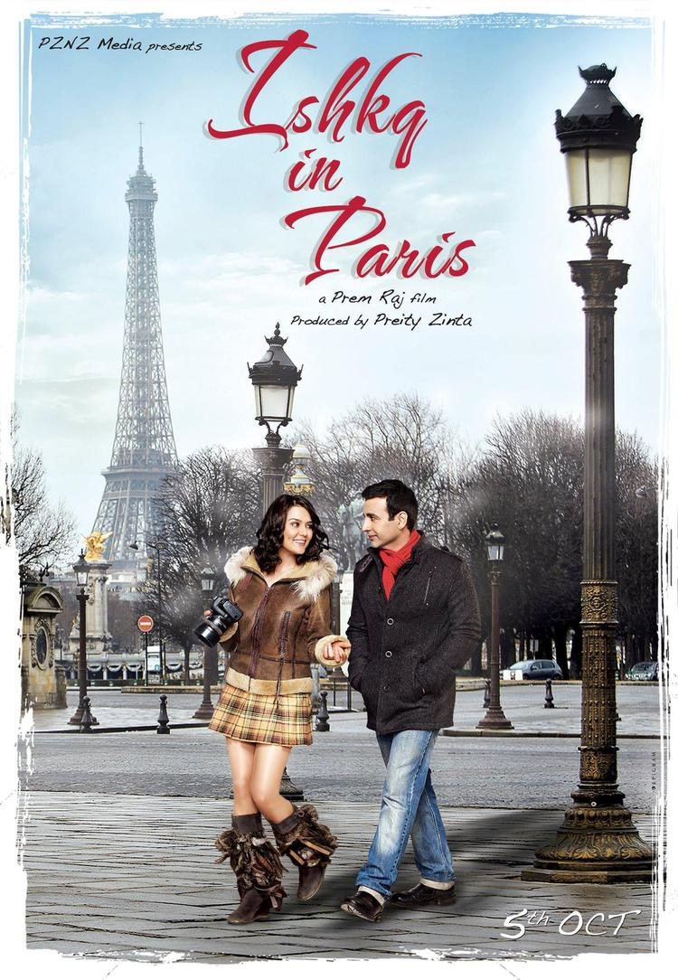 Preity Zinta and Rhehan Malliek First Trailer Of Ishkq In Paris