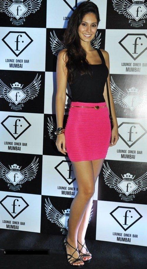 Bruna Abdullah at F Lounge Diner Bar Launch Party In Mumbai