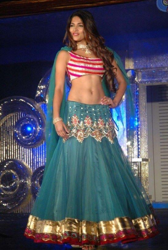 Parvathy Shows Her Midriff on Ramp