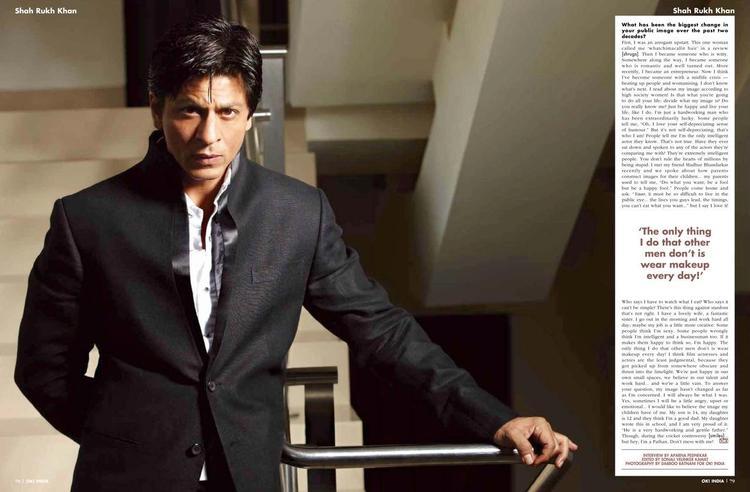 Style Icon Shahrukh Khan For OK India September 2012