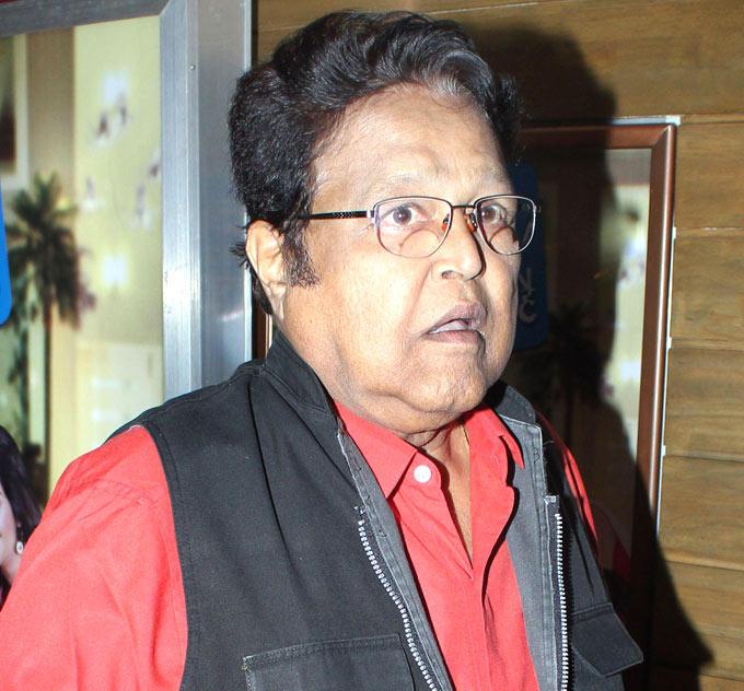 Viju Khote at No Entry Pudhe Dhokha Aahe Premiere
