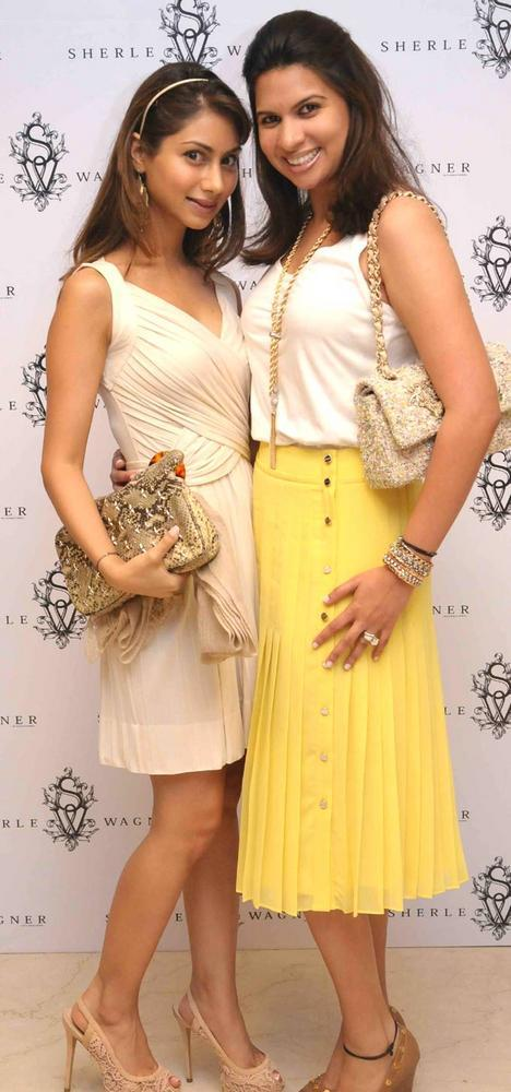 Celebs Pose During The Launch of Sherle Wagner Store