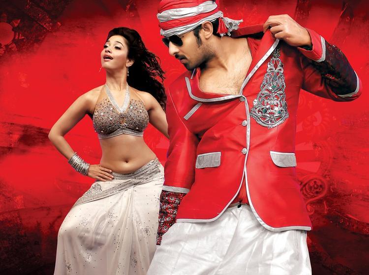 Prabhas and Tamanna Sexy Dance Still In Rebel Movie
