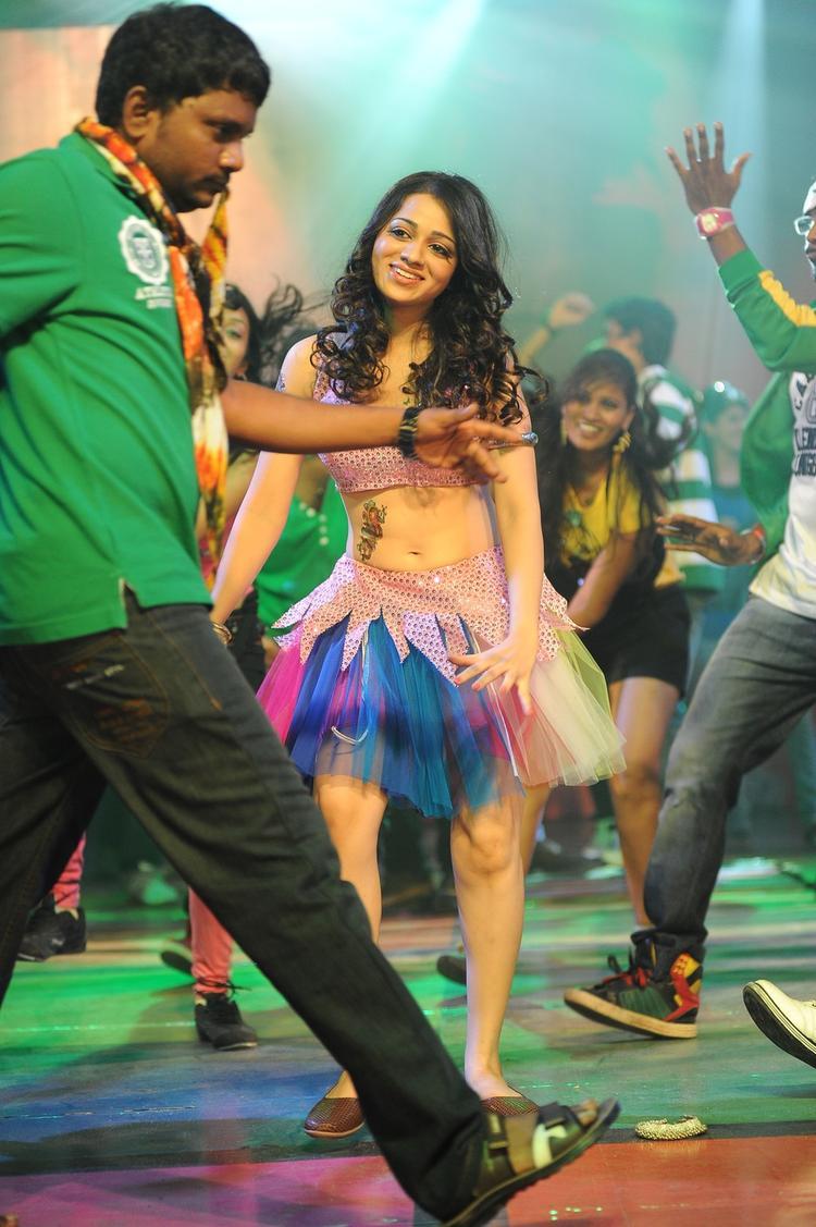 Reshma Song Still In Jai Shree Ram Movie