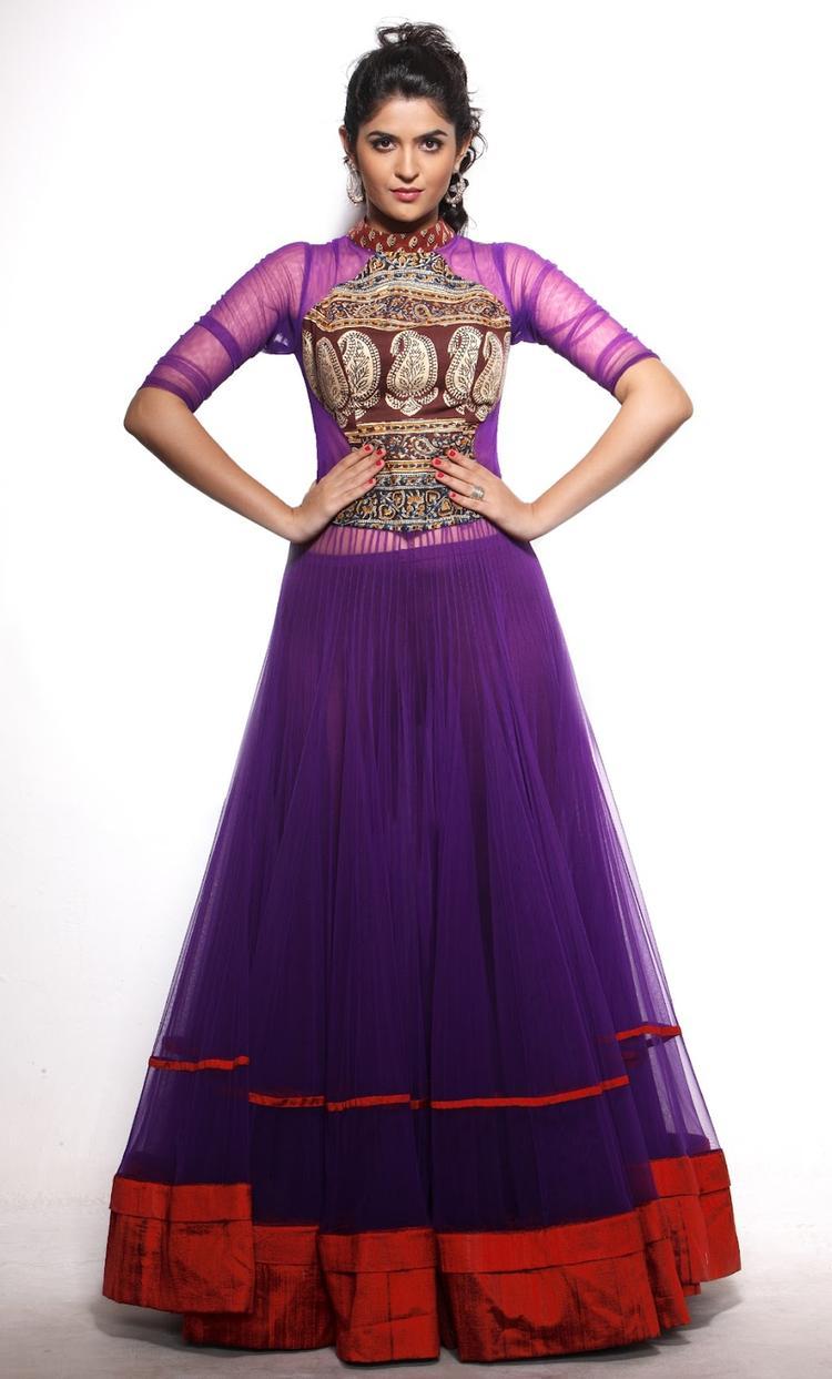 Deeksha Seth Beautiful Dress Hot Photo Shoot