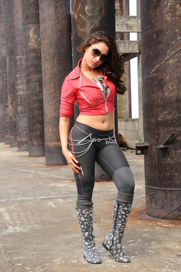 Tamanna Bhatia Stunning Hot Pic In Rebel Movie