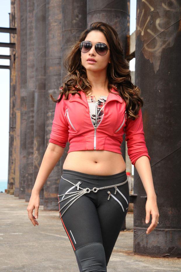 Tamanna Bhatia Stylish Hot Photo In Rebel