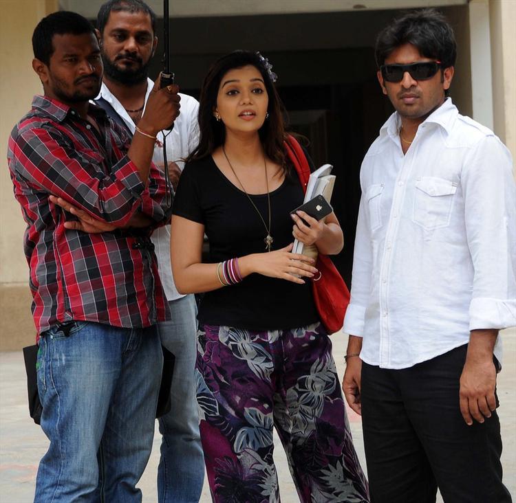 Swathi On The Location Of Swamy RaRa Movie
