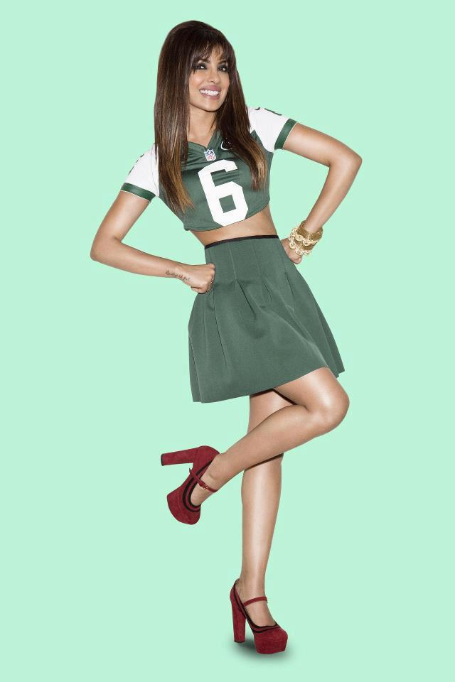 Priyanka Chopra Sweet Cute Pose Photo Shoot For NFL