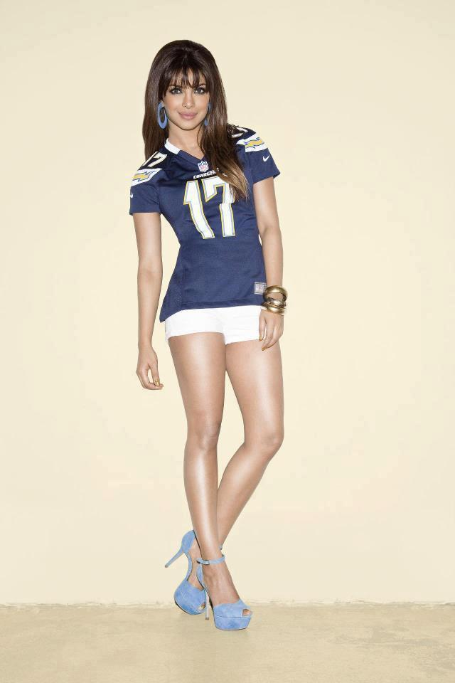 Priyanka Chopra's Latest Photo Shoot For NFL