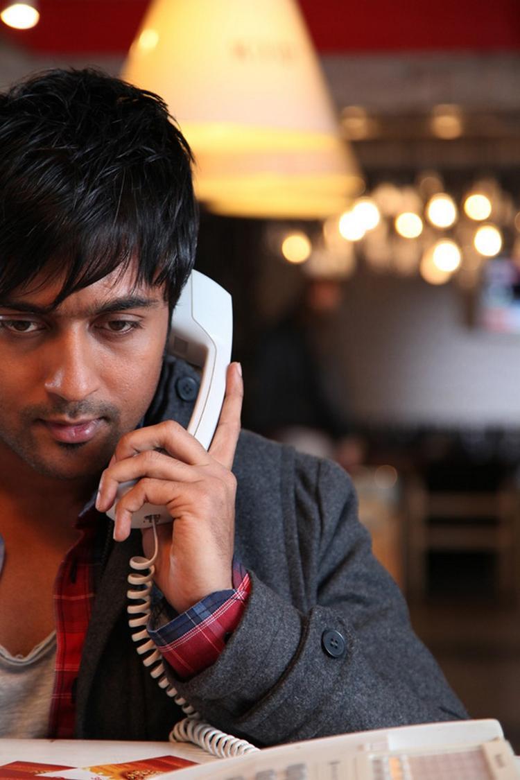 Tollywood Actor Surya In Brothers Telugu Movie Still