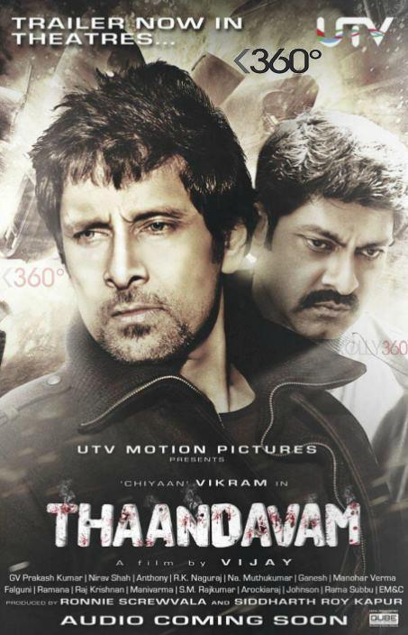 Vikram Angry Look In His Upcoming Movie Thandavam Wallpaper