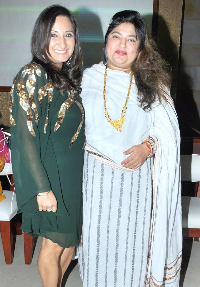 Biba Singh With Dolly Bindra At The Launch Of Her New Album Nachne De Chaa