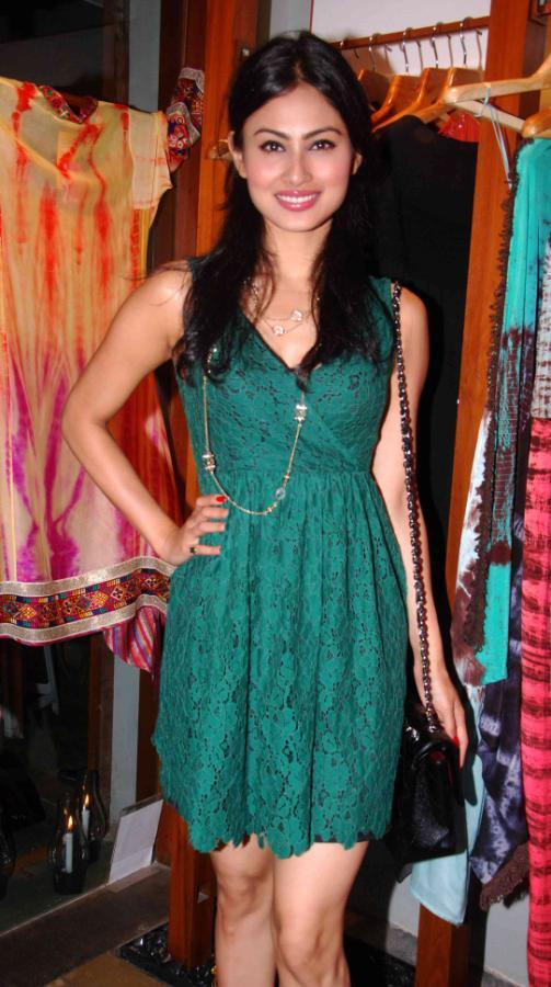Mouni Roy At FUEL Fashion Store Launch Event
