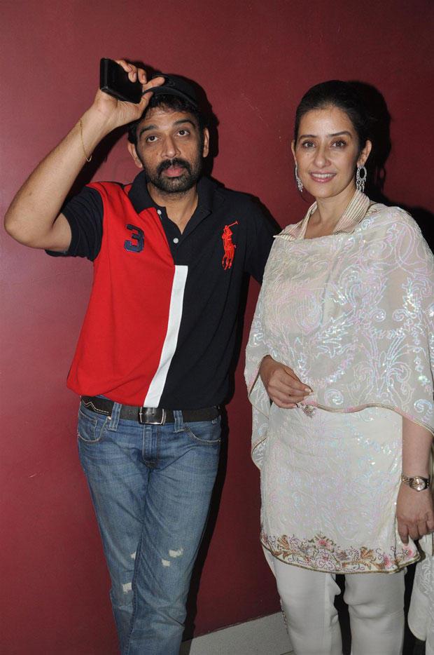 Manisha And JD Chakravarthy At Bhoot Returns Premiere Show