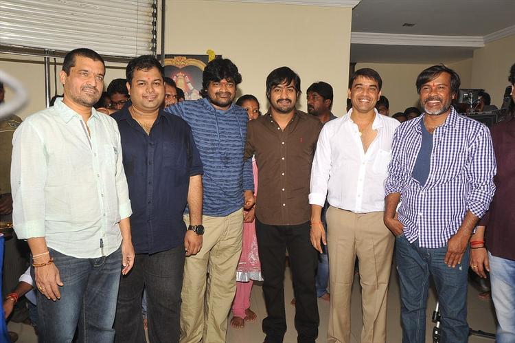 Jr Ntr Harish Shankar Movie Launched Photo