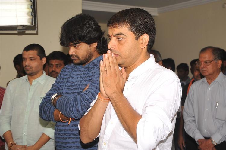 Harish Shankar And DilRaju In Pooja Still