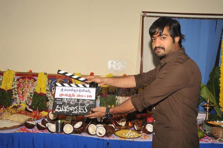 Jr NTR Upcoming Movie Muhurtam Exclusive Pics