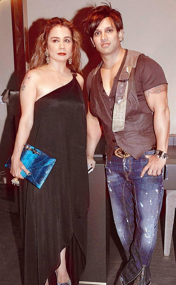 Yash And Avanti At The Launch Of International Furniture Brand Store