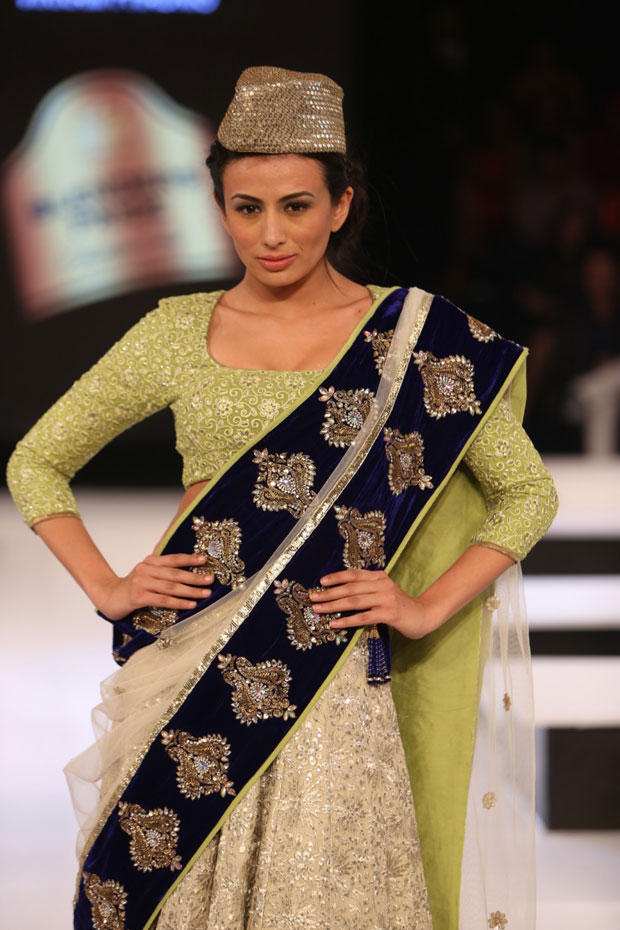 Pia On The Ramp Walk At The Blenders Pride Fashion Tour 2012