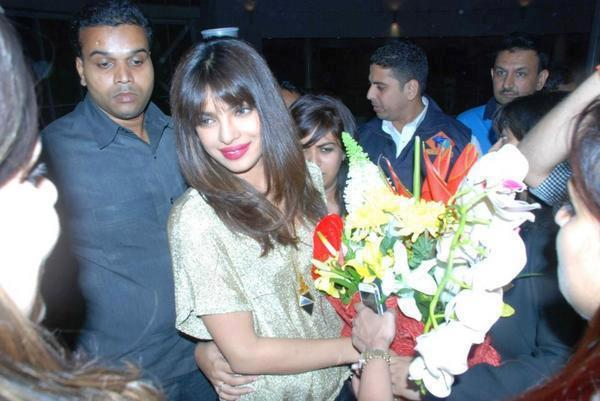 Priyanka Chopra During Teh Promotional Event Of Her New Single In My City