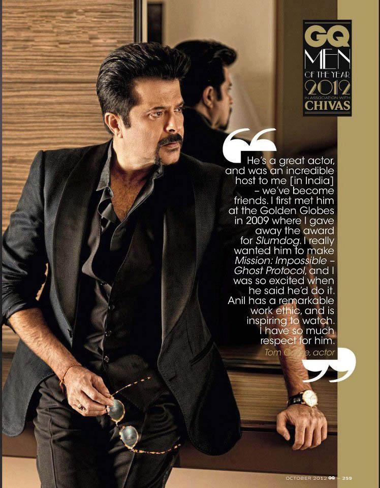 Anil Smart And Stylish Look Still Photo Shoot For GQ India Magazine October 2012